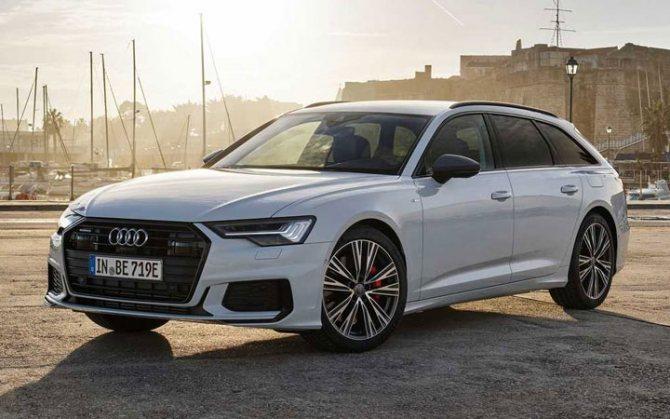 Audi А6 Avant 2020-2021 года