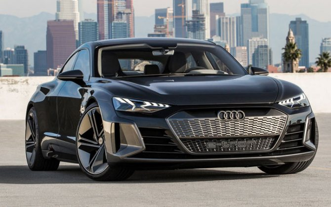 Audi E-Tron GT 2020-2021 года
