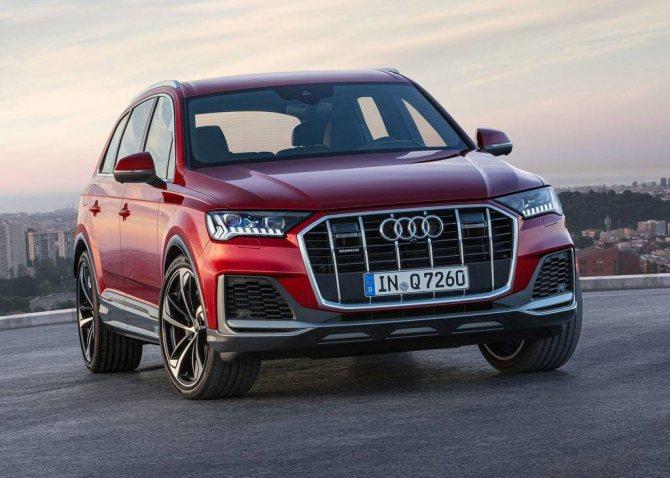 Audi-Q7-2019-2020 - новый кроссовер