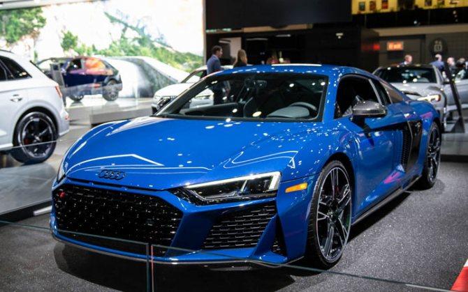 Audi R8 2020-2021 года