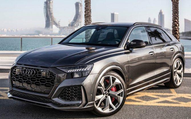 Audi RS Q8 2020-2021 года