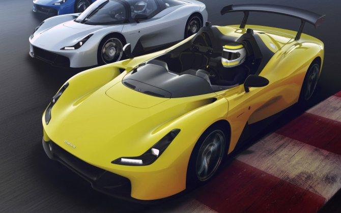 Автомобиль Dallara Stradale