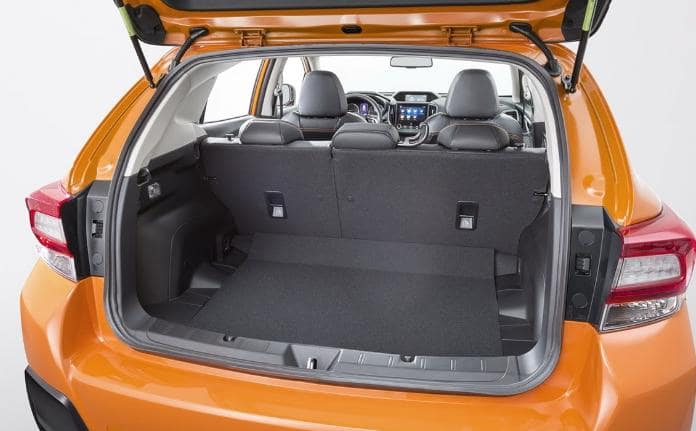 багажник Subaru XV 2018