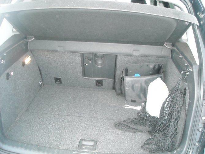Багажник Тигуан 2009 (фото)