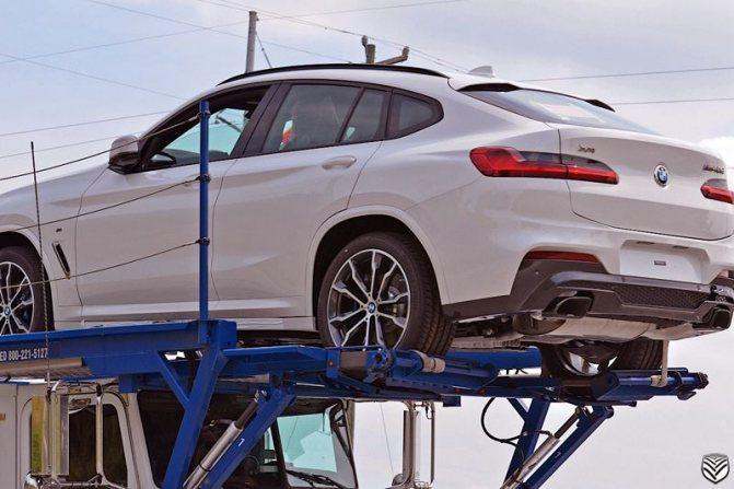 BMW X4 2020 фото