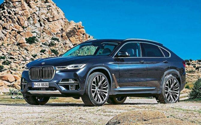 BMW X8 2020 года