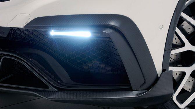 Brabus Mercedes-Benz GLE63 AMG B850 элементы переднего бампера