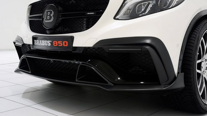 Brabus Mercedes-Benz GLE63 AMG B850 передний спойлер