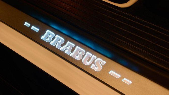 Brabus Mercedes-Benz GLE63Coupe AMG B850 накладки проемов
