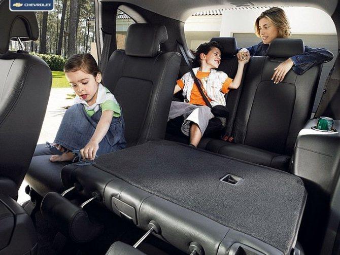 Chevrolet Captiva сиденья