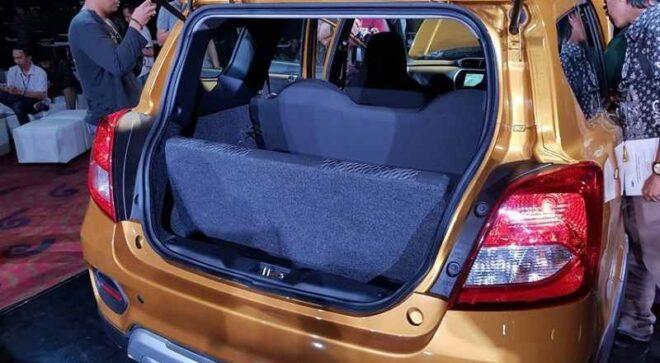 Datsun Cross 2020 багажник
