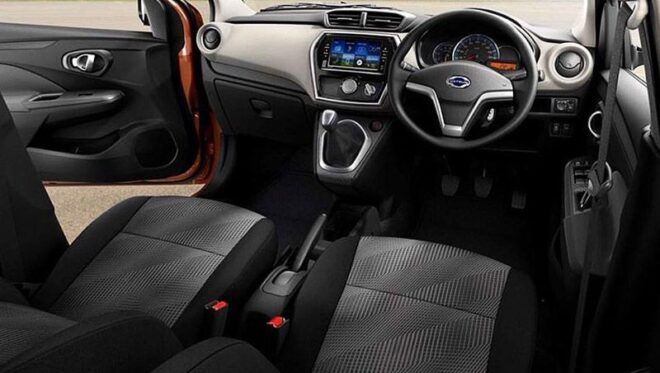 Datsun Cross 2020 передняя панель