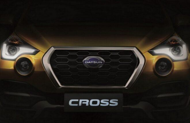Datsun Cross 2020 решётка