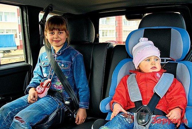 Для двоих детей «Тагер» — как Ил-76 для десантника: просторно!