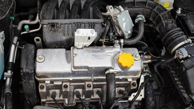 Двигатель Datsun