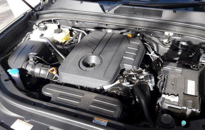 Двигатель SsangYong Rexton 2020