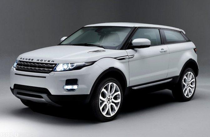 экономичный range rover evoque