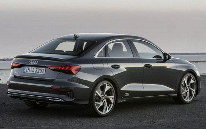 Экстерьер Audi A3 2020-2021 года