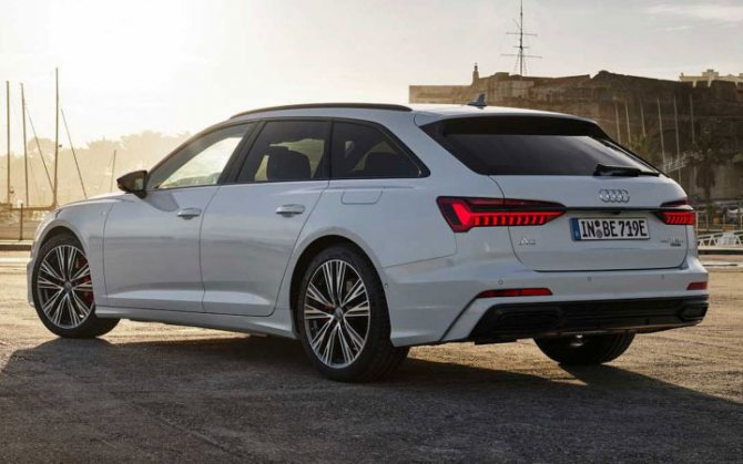Экстерьер Audi А6 Avant 2020-2021 года