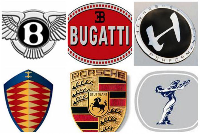 Эмблемы марок машин с названиями фото