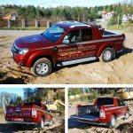 Ford Ranger настоящий трудяга - он способен перевести на себе более тонны любого груза!