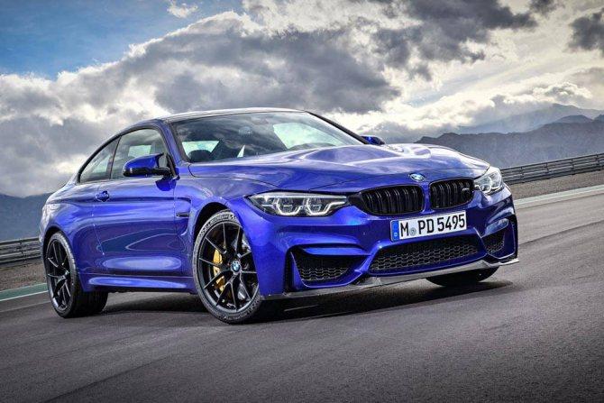 фото BMW M4 CS 2020 вид спереди