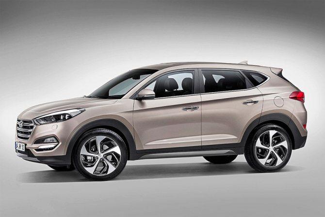 Фото Hyundai Tucson 2015 2016 3го поколения