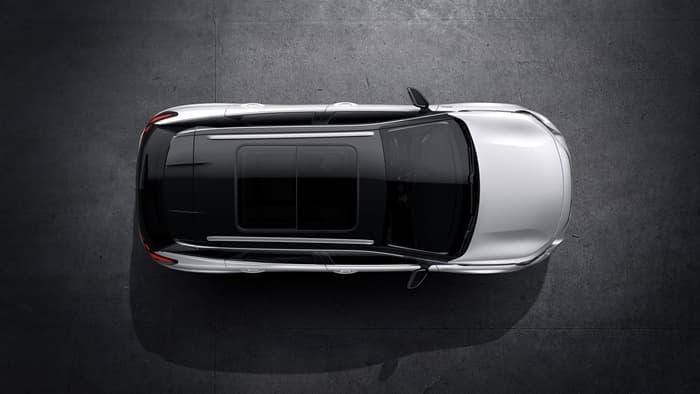 Фото Peugeot 3008 GT Line 2018. Вид сверху