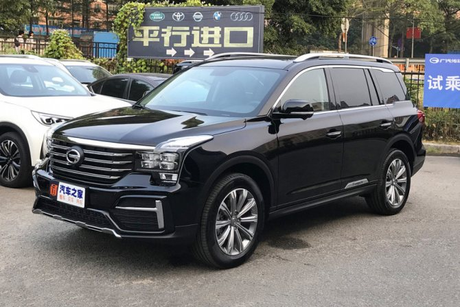 Характеристики GAC GS8 – почти Mercedes-Benz от Китая