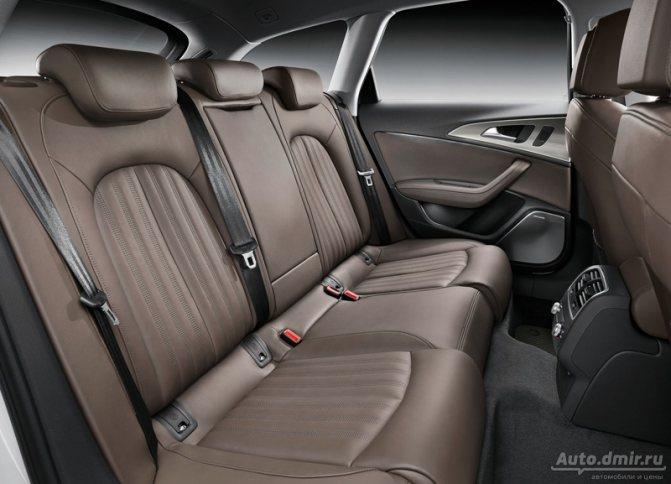 Интерьер Audi А6 Allroad Quattro