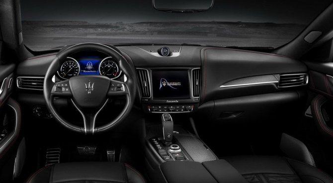 Интерьер Maserati Levante Trofeo