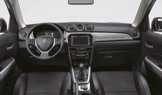 Интерьер Suzuki Grand Vitara