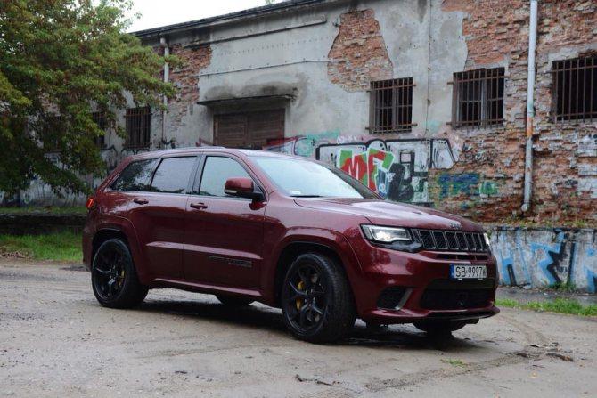 Jeep Grand Cherokee Trackhawk — давайте любить нелепости 3