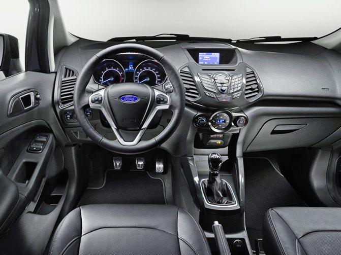 Комплектации Ford EcoSport