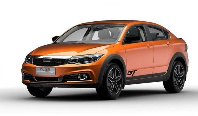 Кросс-седан Qoros 3 GT или конкурент Лада Веста Кросс