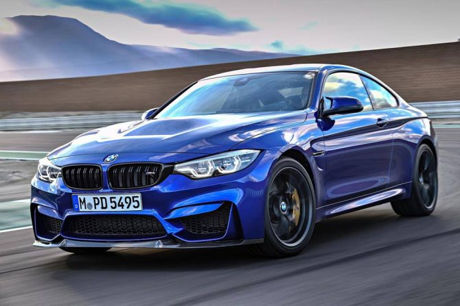 купе BMW M4 CS 2018