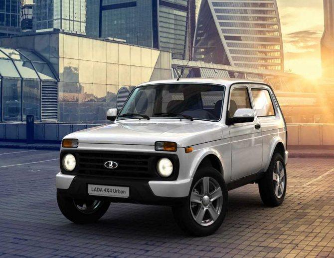 Lada 4×4 Urban — городская версия легендарной «Нивы»