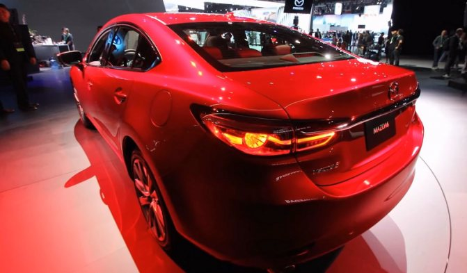 Mazda 6 2018-2019 года
