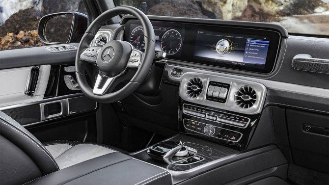 Mercedes-Benz G-class фото салона