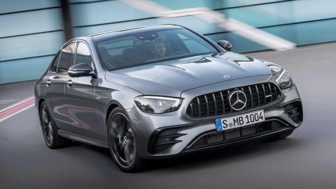 Mercedes-Benz показал рестайлинговый E-Class 2021 модельного года