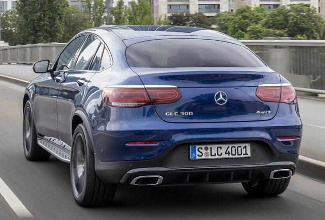 Mercedes GLC Coupe 2019 года