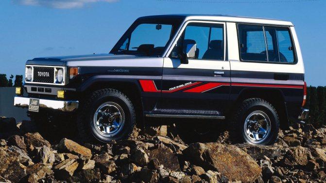 На фото: Toyota Land Cruiser '1984–90