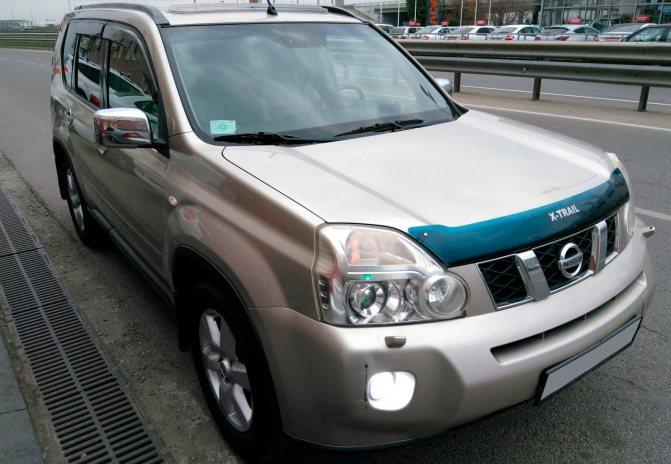 Nissan X-Trail II три четверти