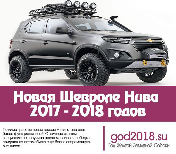 Новая Шевроле Нива 2020 - 2020 годов
