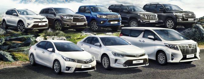 Новая Тойота 2020 цвет и кузов