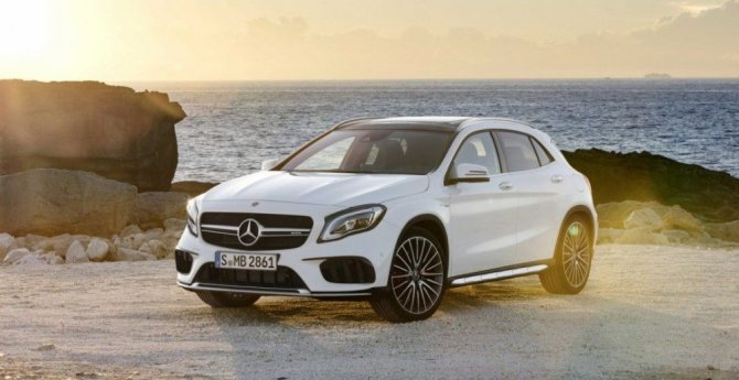 Новинки NAIAS-2017 в Детройте: Mercedes-Benz GLA-Class 2018