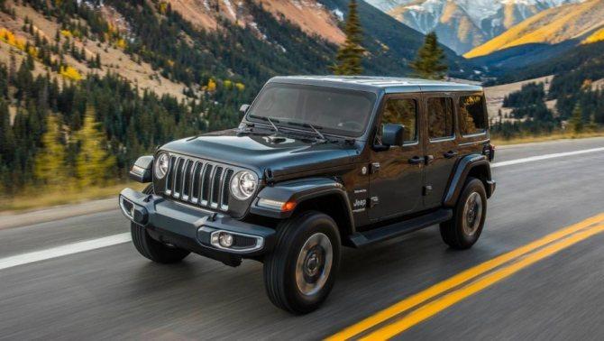 Новое поколение американского рамного внедорожника Jeep Wrangler 4