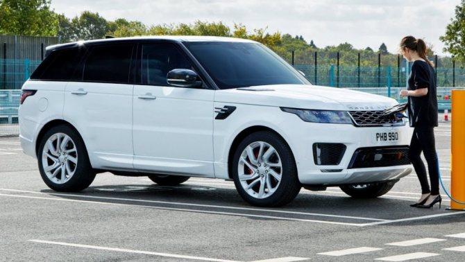 Новый британский внедорожник Land Rover Sport 2018