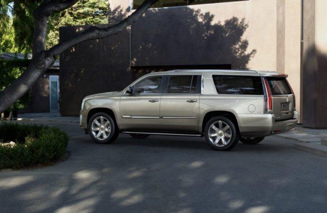 Новый Cadillac Escalade ESV 2019