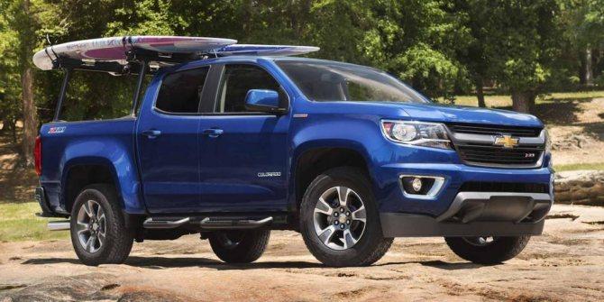 Новый Chevrolet Colorado
